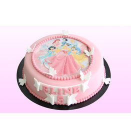 1. Sweet Planet Prinsessen taart model 1