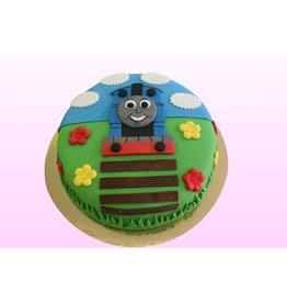 1. Sweet Planet Thomas de trein taart model 2