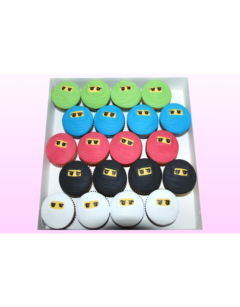 1. Sweet Planet Ninjago cupcakes