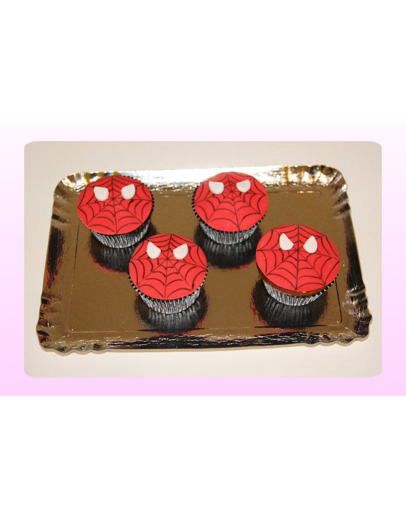 1. Sweet Planet Spiderman cupcakes
