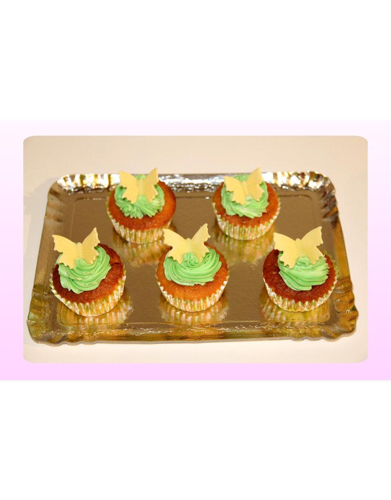 1. Sweet Planet Vlinders cupcakes