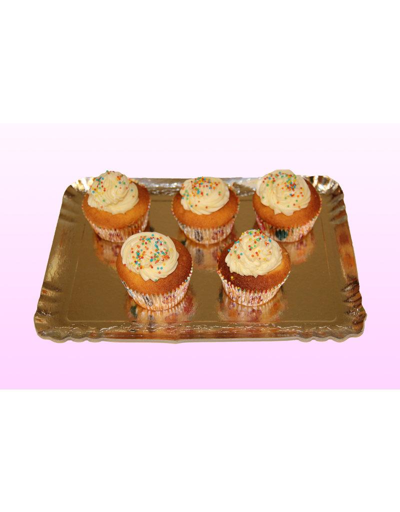1. Sweet Planet Gekleurde bolletjes cupcakes