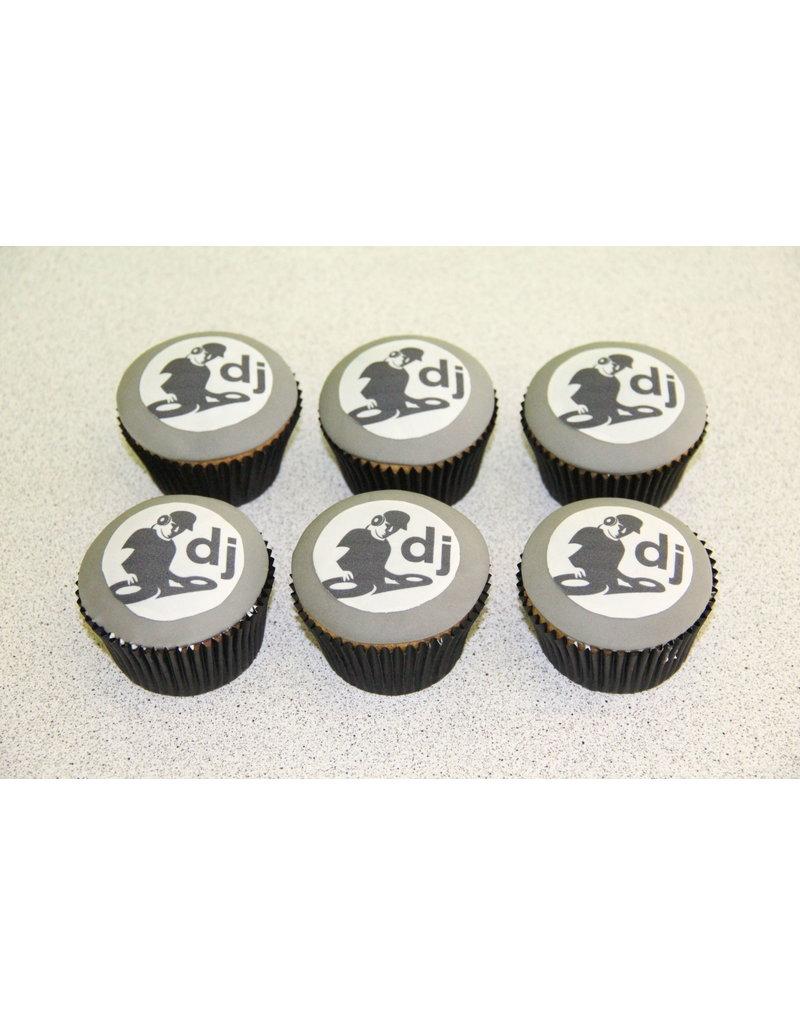 1. Sweet Planet DJ cupcakes