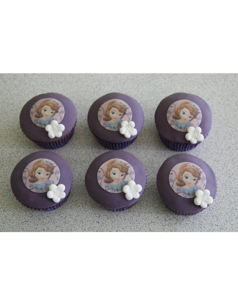 1. Sweet Planet Prinses Sofia cupcakes