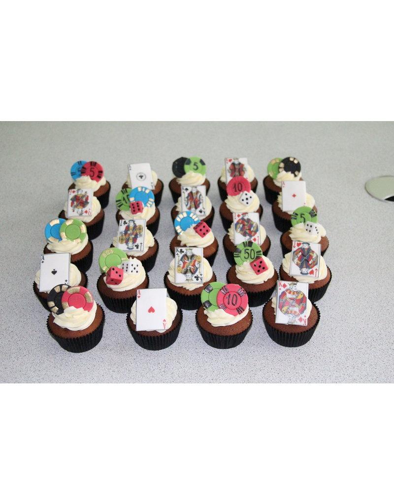 1. Sweet Planet Kaarten / Casino cupcakes