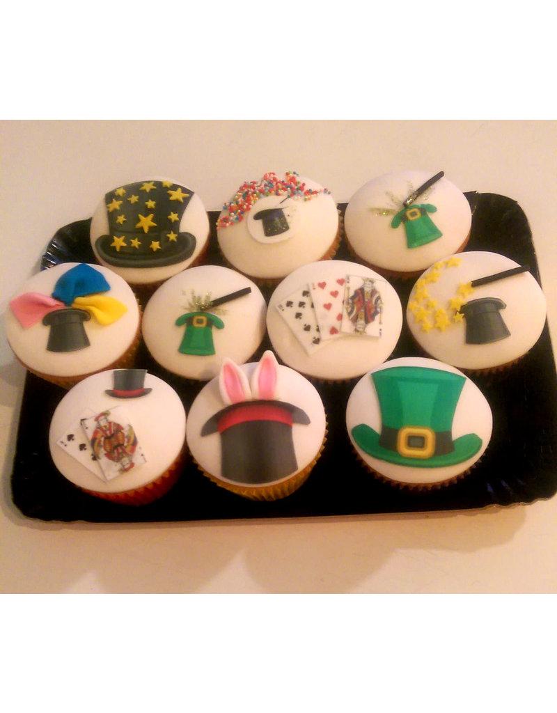 1. Sweet Planet Goochelen cupcakes