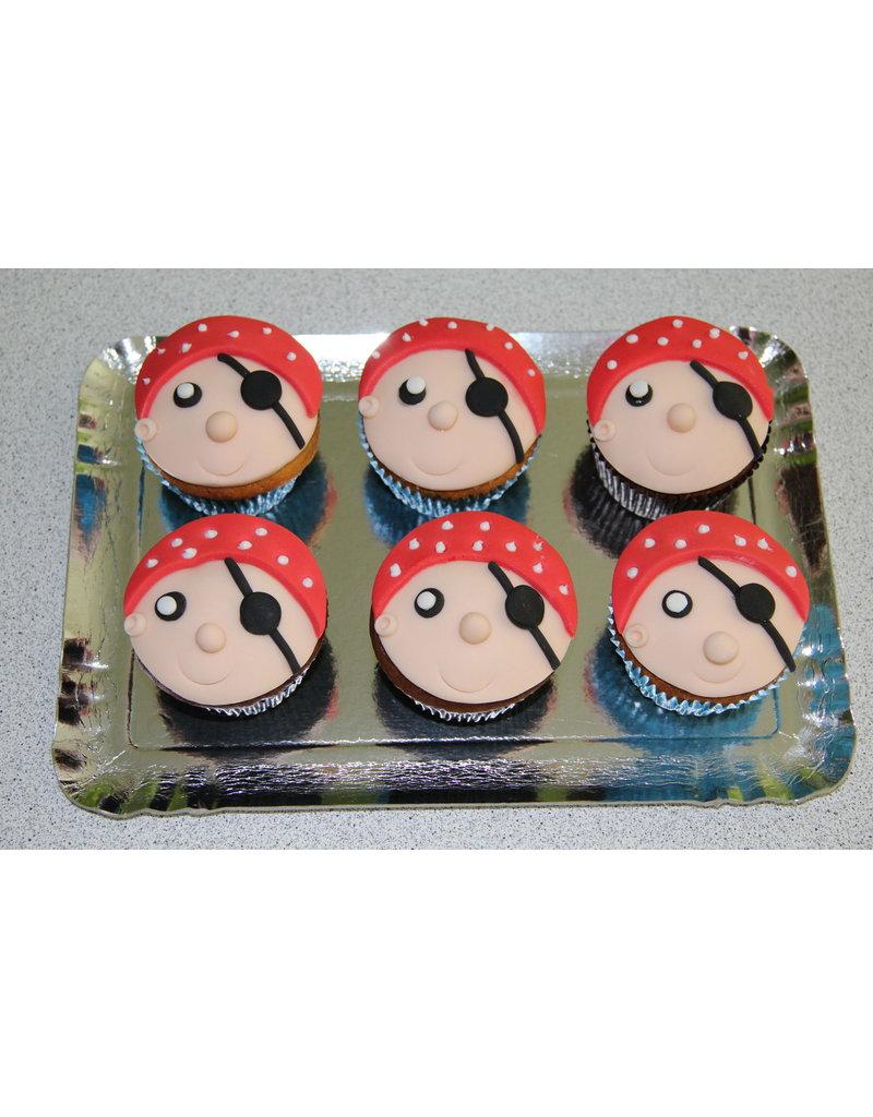 1. Sweet Planet Piraten cupcakes