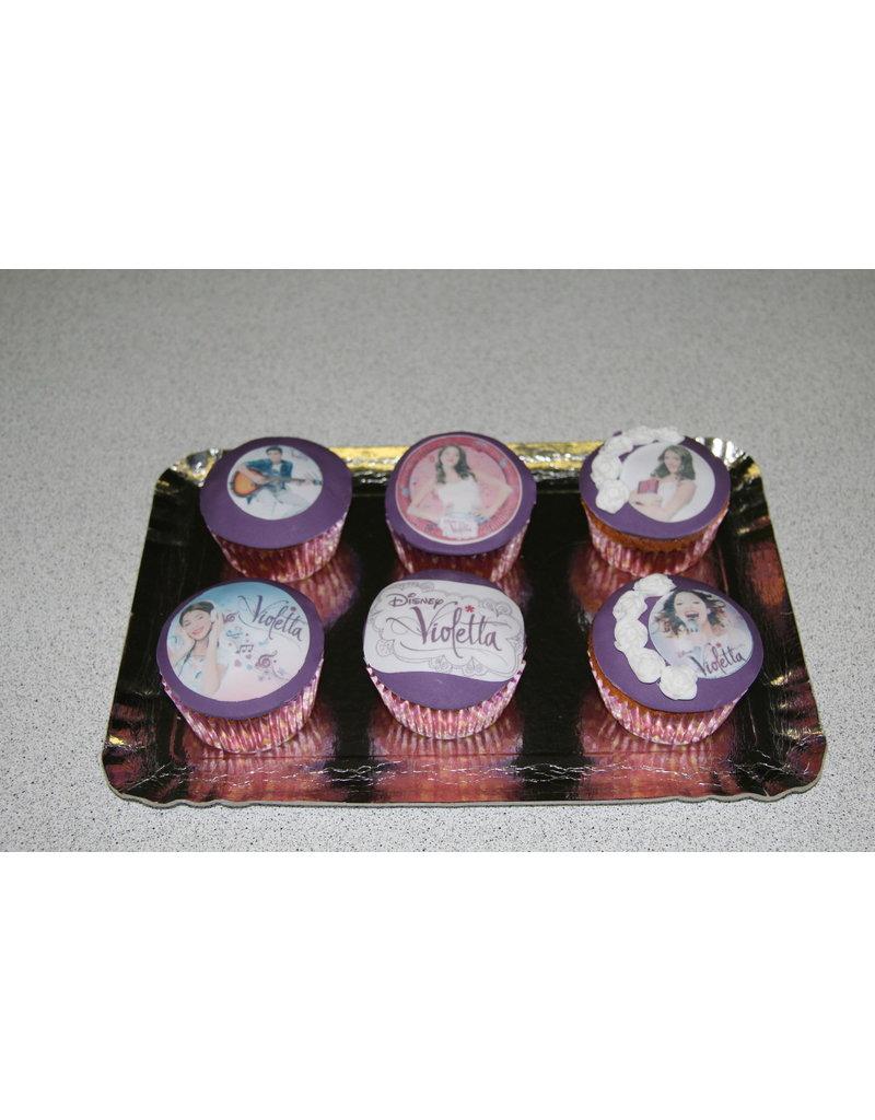 1. Sweet Planet Violetta cupcakes