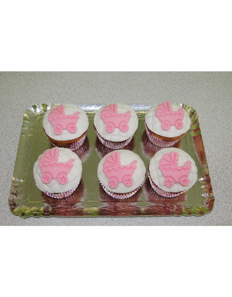 1. Sweet Planet Baby koetsjes cupcakes