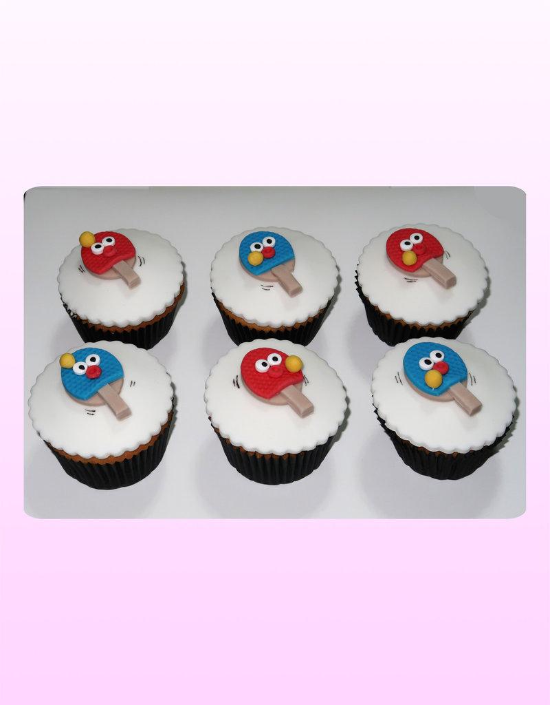 1. Sweet Planet Ping pong cupcakes
