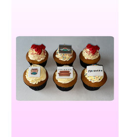 1. Sweet Planet Friends cupcakes