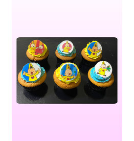 1. Sweet Planet Bumba cupcakes model 2