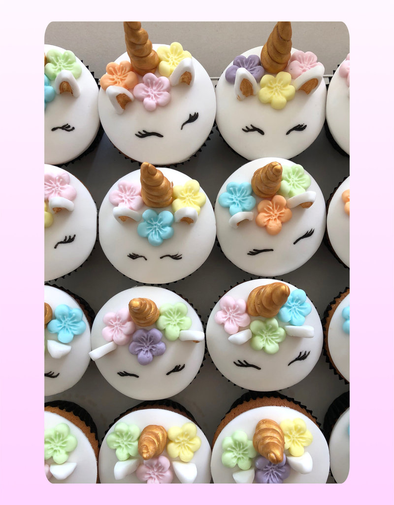 1. Sweet Planet Unicorn cupcakes model 2