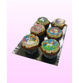 1. Sweet Planet Unicorn cupcakes model 3