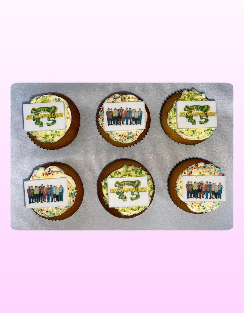 1. Sweet Planet Fc de kampioenen cupcakes