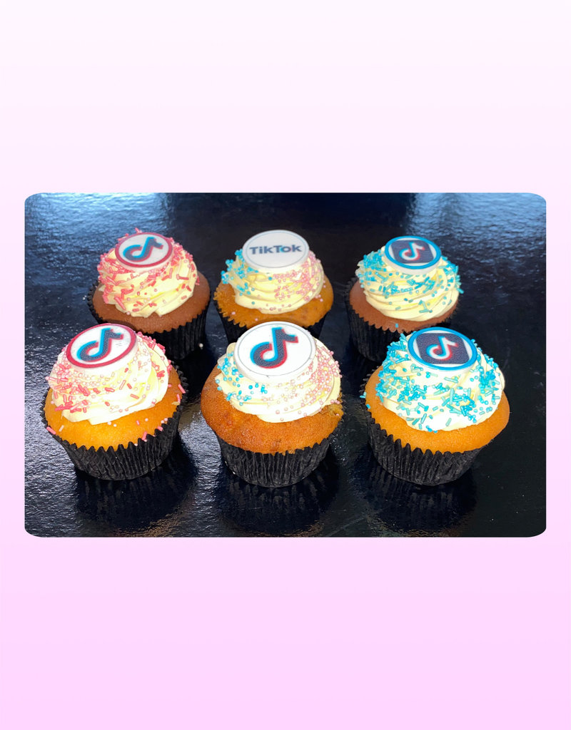 1. Sweet Planet TikTok cupcakes