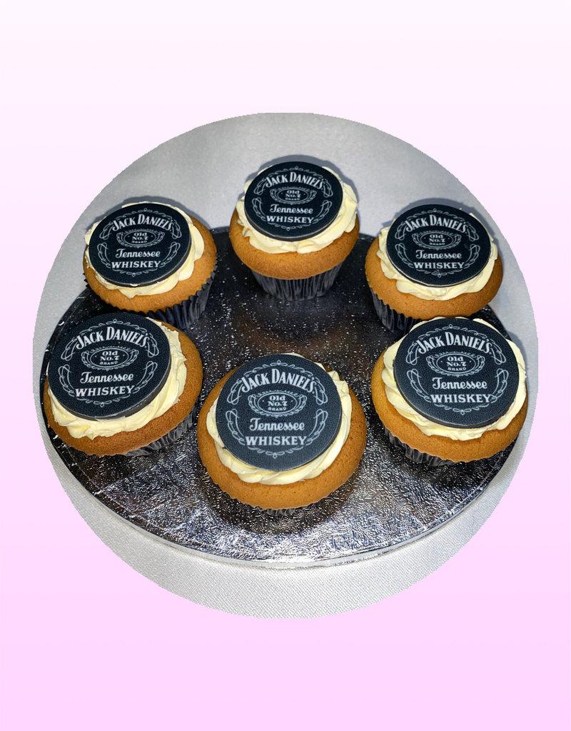 1. Sweet Planet Jack Daniels cupcakes