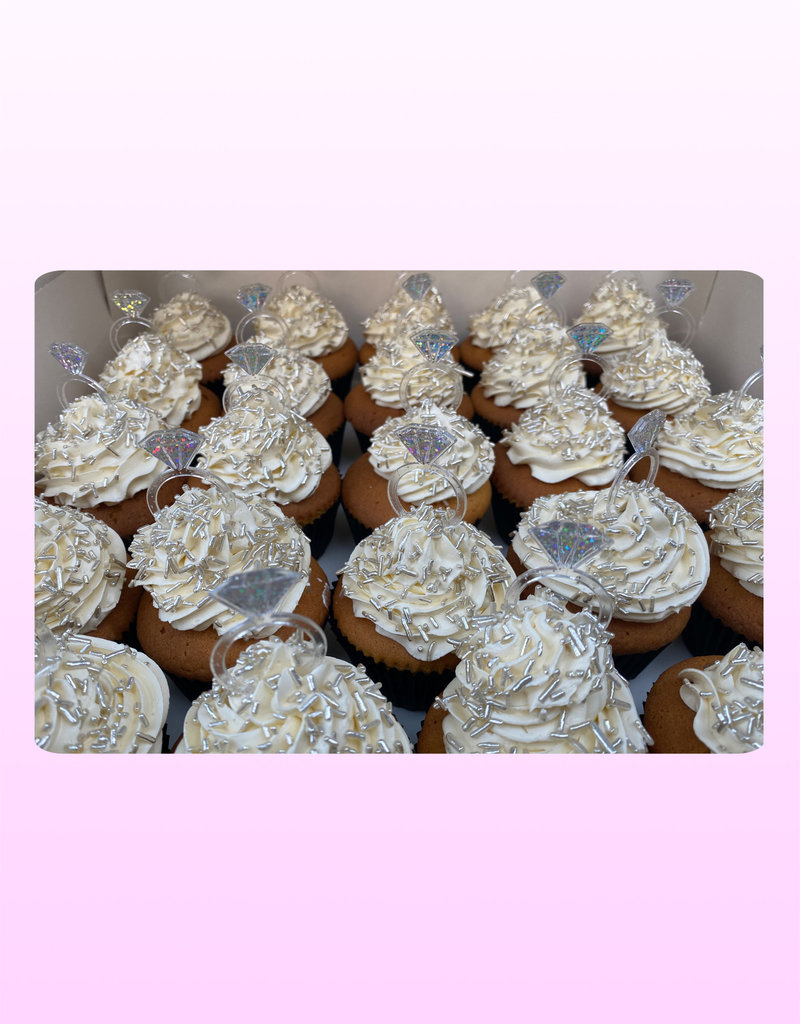 1. Sweet Planet Diamond cupcakes