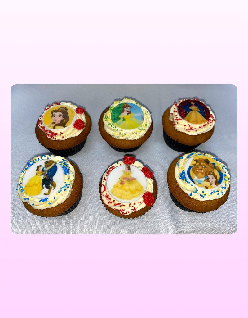 1. Sweet Planet Belle en het beest cupcakes