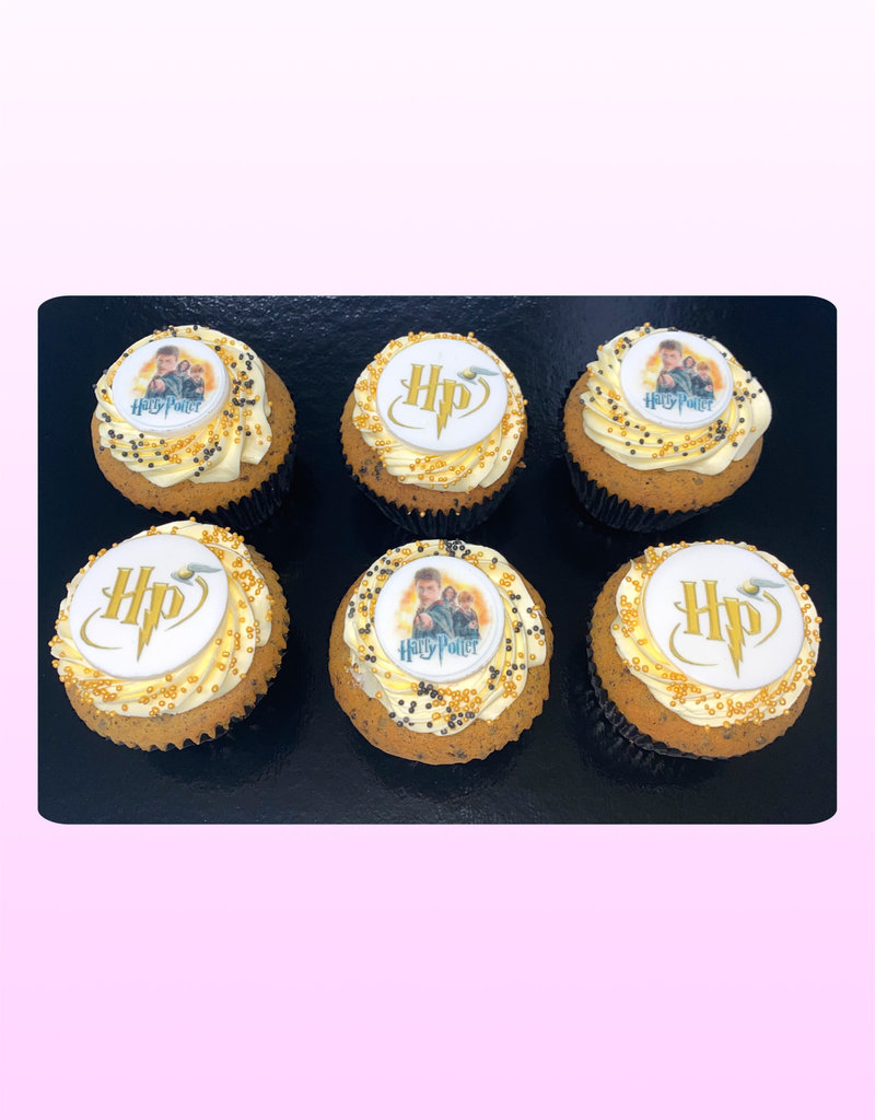 1. Sweet Planet Harry Potter cupcakes