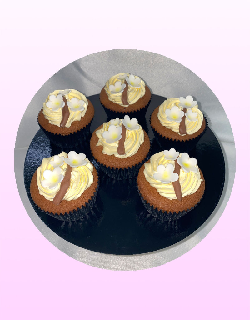 1. Sweet Planet Bloemen cupcakes