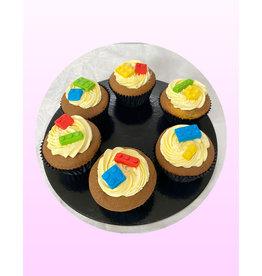 1. Sweet Planet Lego cupcakes