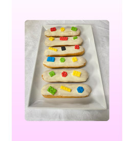 1. Sweet Planet Lego eclairs