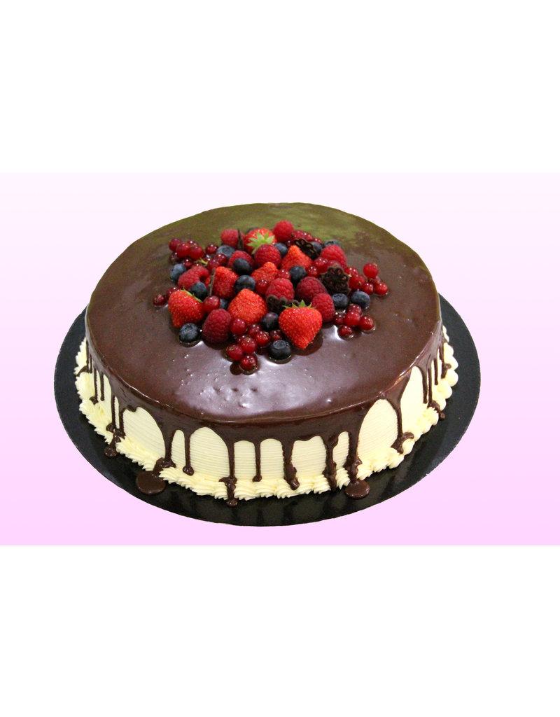 1. Sweet Planet Chocolade rode fruittaart model 1