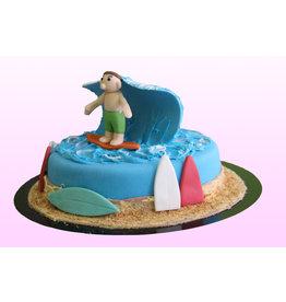 1. Sweet Planet Surfen taart