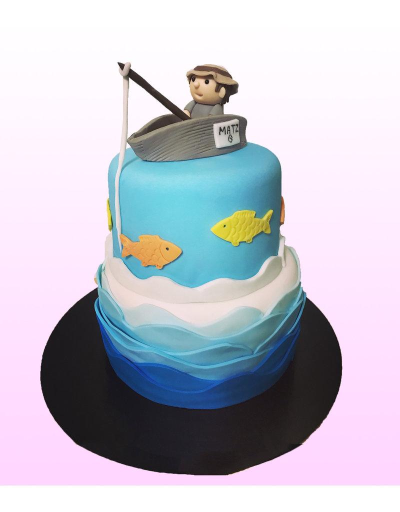 1. Sweet Planet Vissen taart