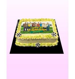 1. Sweet Planet FC De Kampioenen taart