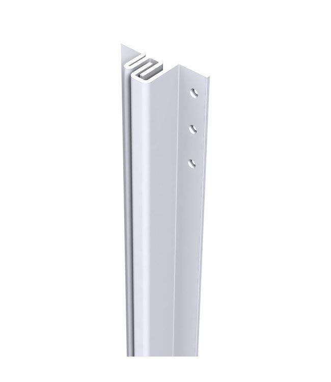 Secu Products SecuStrip anti-inbraakstrip buitendraaiend (4-6mm, L2115mm, wit, RAL 9010)