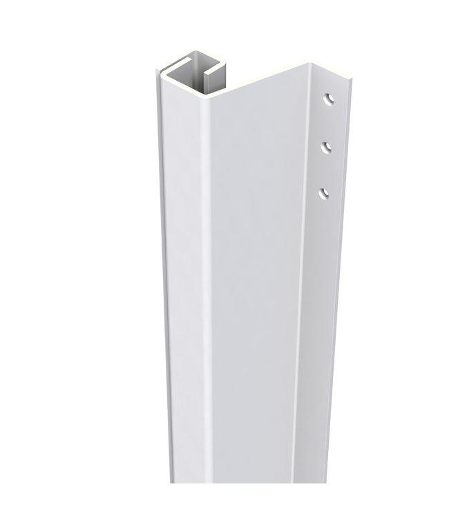 Secu Products SecuStrip anti-inbraakstrip Plus achterdeur buitendraaiend (14-20mm, L2115mm, wit, RAL 9010))