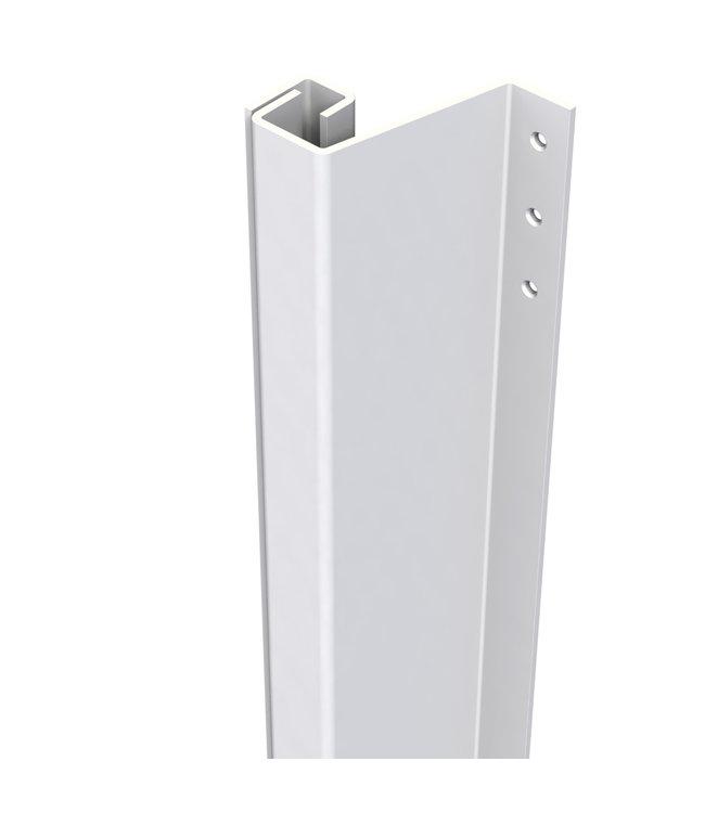 Secu Products SecuStrip anti-inbraakstrip Plus achterdeur buitendraaiend (21-27mm, L2115mm, wit, RAL 9010))