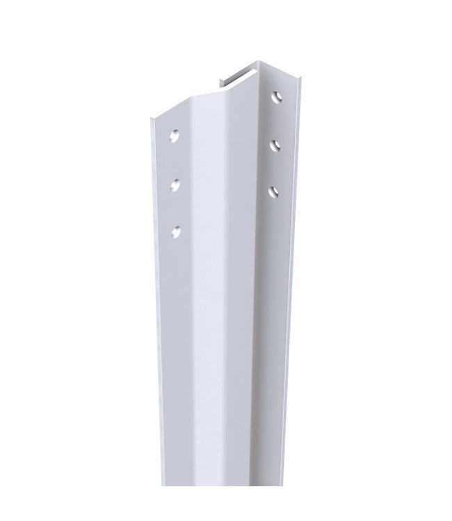 Secu Products anti-inbraakstrip (binnendraaiend, L2050mm, wit, RAL 9010)