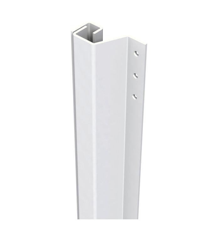 Secu Products SecuStrip anti-inbraakstrip achterdeur (L2300mm, wit, RAL 9010), 0-6mm