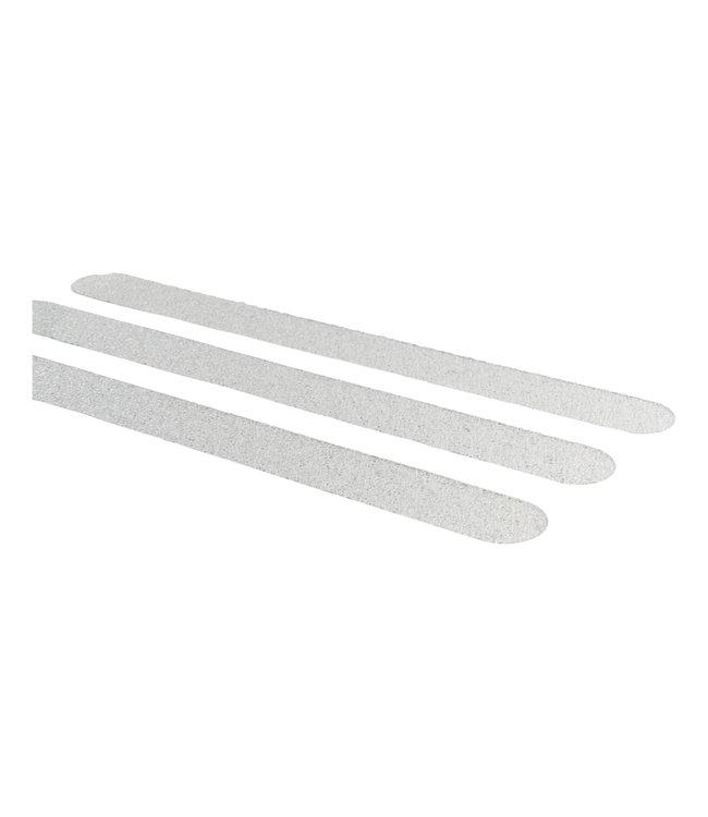 Secu Products anti-slip sticker langwerpig (245x25mm), semi-transparant, 12 stuks