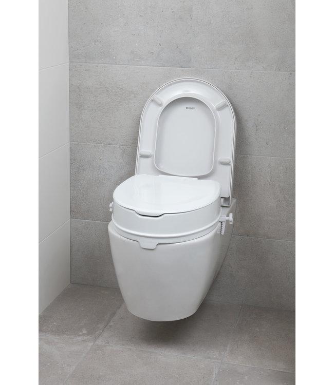 Secu Products SecuCare toiletverhoger met klep (wit, H100mm)