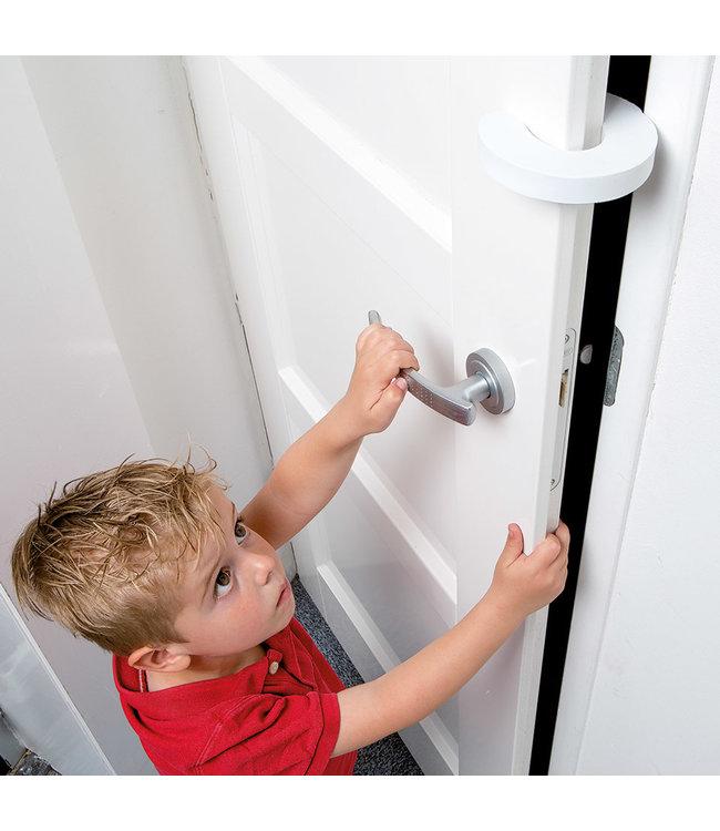 Secu Products SecuCare deurstopper (wit, 2 stuks)