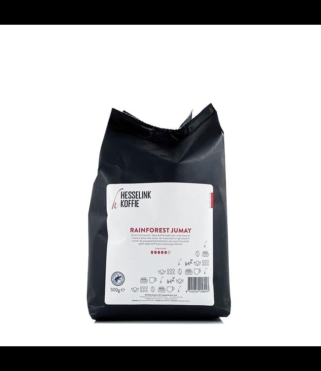 Hesselink Koffie Rainforest Jumay 500 gram bonen