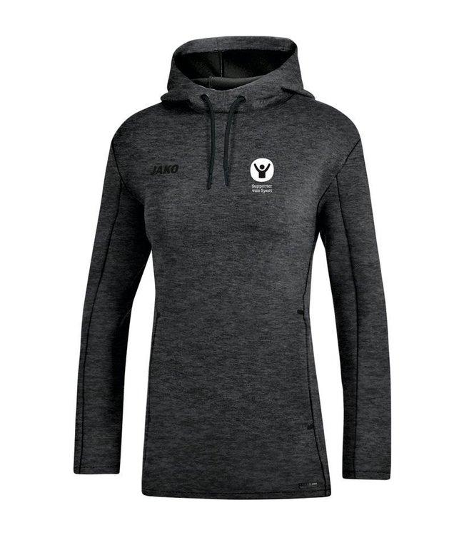 Jako Sweater met kap Premium Basics Dames