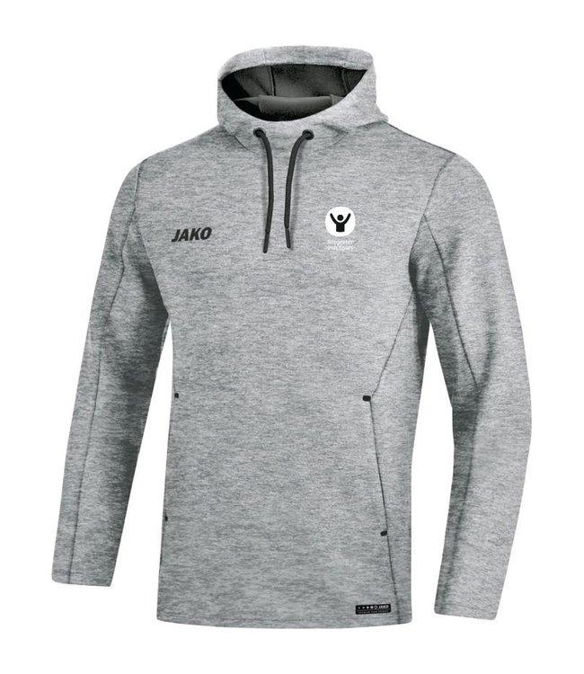 Jako Sweater met kap Premium Basics Heren