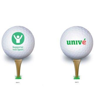 Supporter van Sport Golfballen