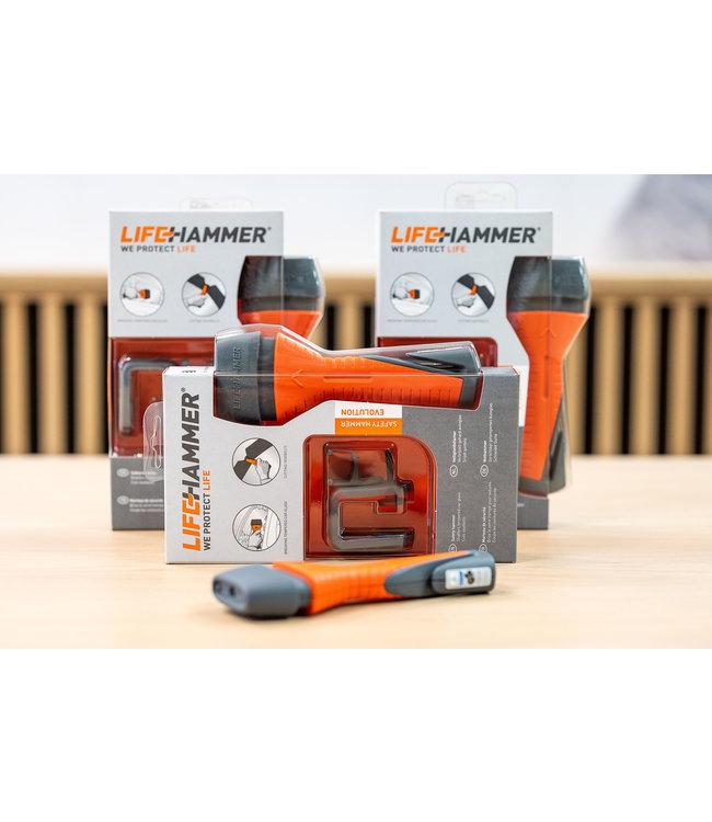 Life Hammer Noodhamer met springveer - Safety Hammer Evolution