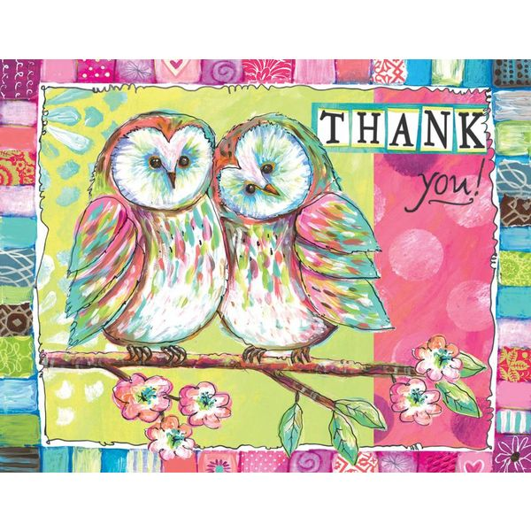Lang Owl Friends Box Note Cards