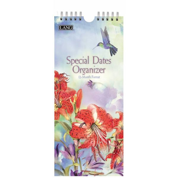 Lang Nature'S Grace Special Dates Organizer