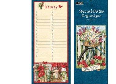 Perpetual special dates calendars