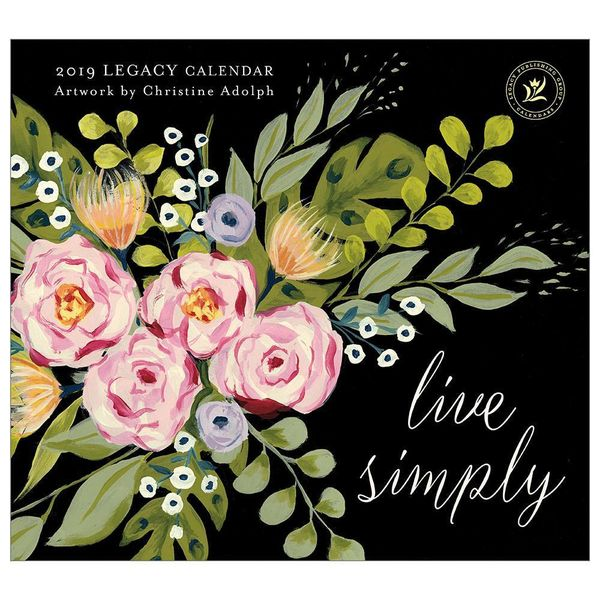 LEGACY LIVE SIMPLY 2019 Große Kalender