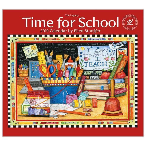 LEGACY TIME FOR SCHOOL 2019 Große Kalender