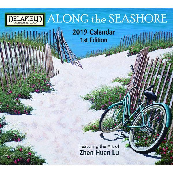Delafield calendars ALONG THE SEASHORE 2019 Große Kalender